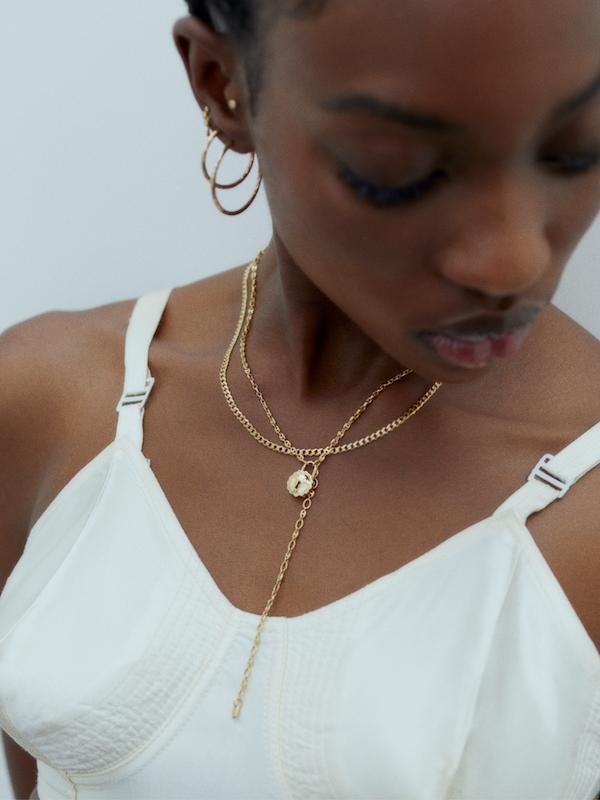 Saffi 43 Necklace