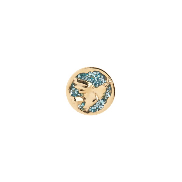 Freedom Ocean Glitter Coin
