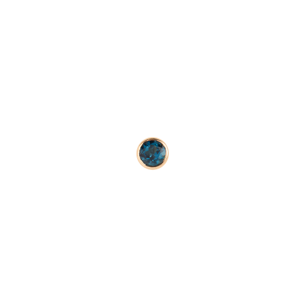 Mega Dot Blue Topaz