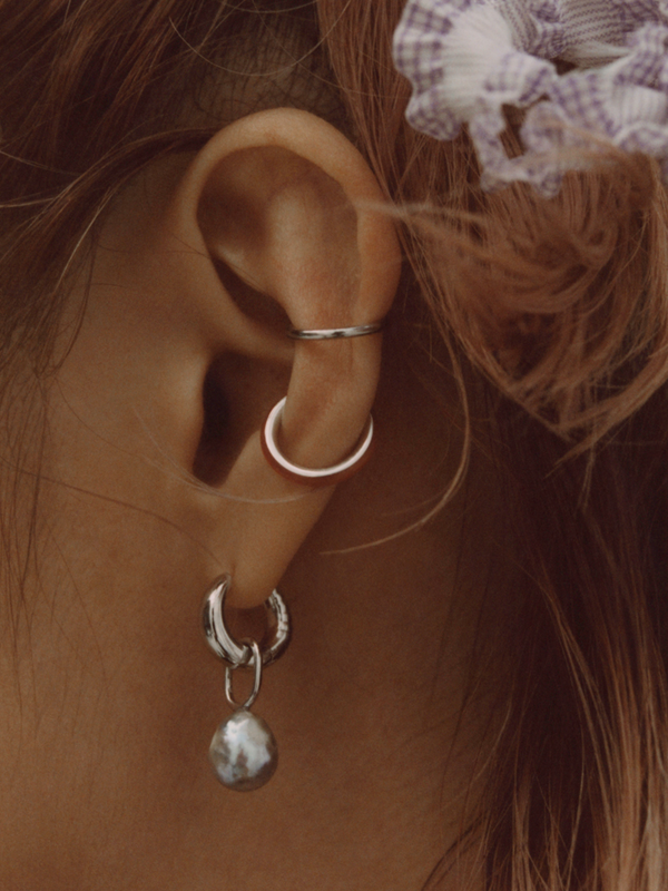 Twin Mini Ear Cuff