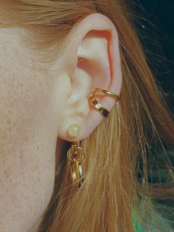 Ripples Ear Cuff